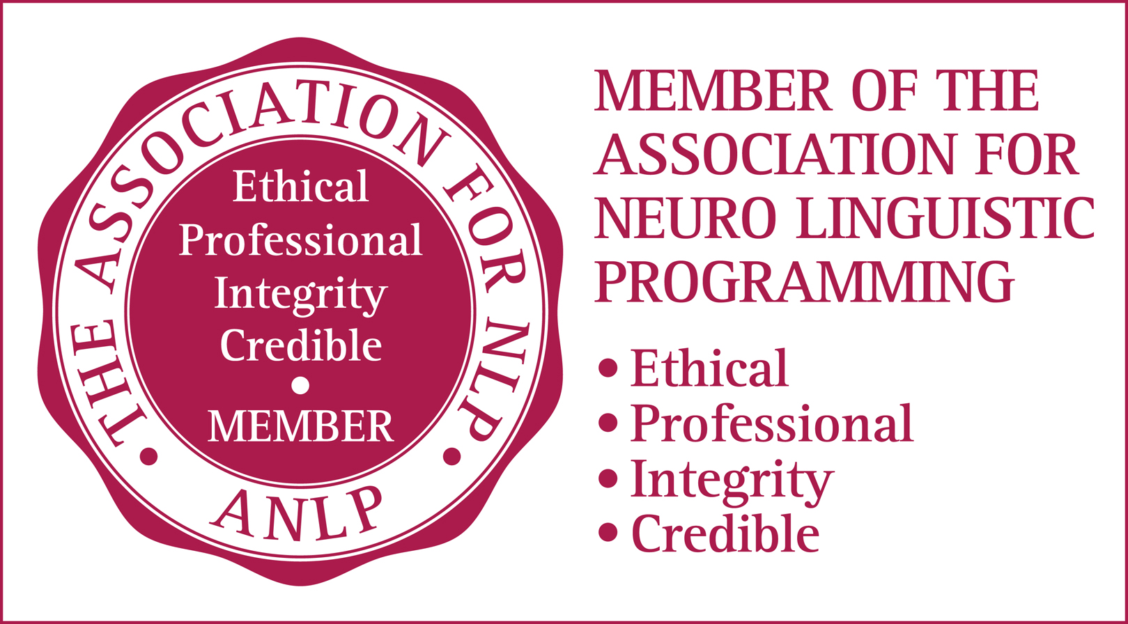 Member of the Association for NLP