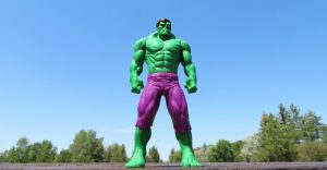 anger issues - a picture of the incredible hulk